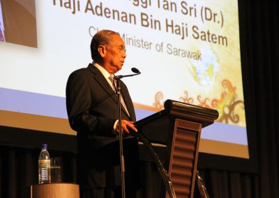 Opening speech by the Chief Minister of Sarawak